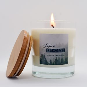 Bougie parfumées Sensaluia Sapin des Vosges